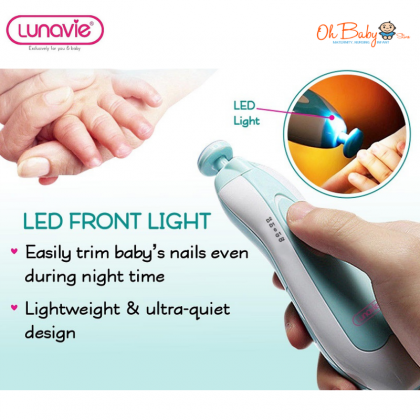 Lunavie Electric Nail Trimmer