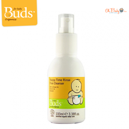 Buds BEO Nappy Time Rinse Free Cleanser 100ml