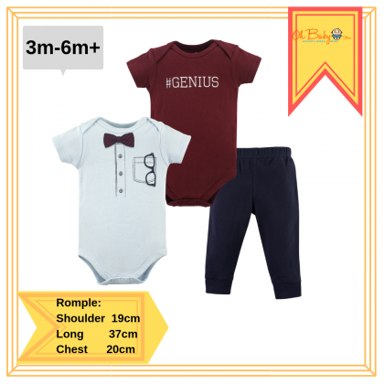 Little Treasure Bodysuit & Pant Set Genius