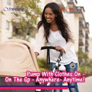 Freemie Liberty Mobile Hands Free Breast Pump