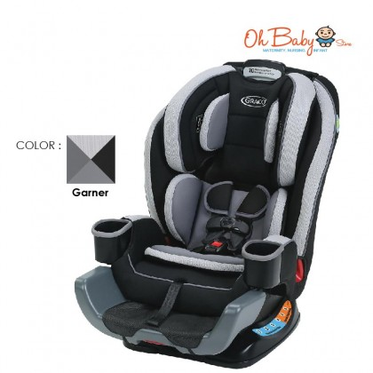 Graco Extend2Fit Convertible Car Seat 3in1 (0-45Kg)
