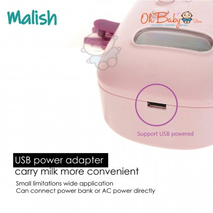 Malish Aria Double Electric Breast Pump Package