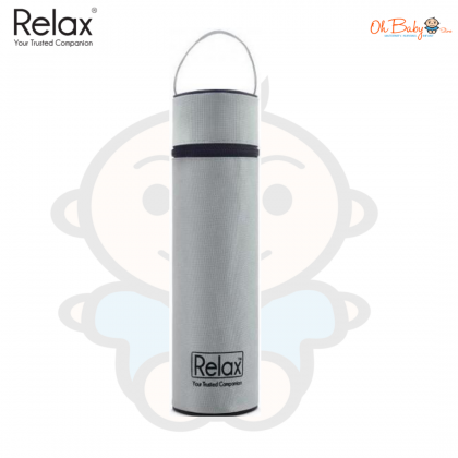 Relax Classic Stainless Steel Thermal Flask With Free Pouch(D2075) 750 ml