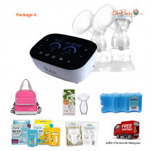 Malish Mirella Plus Double Rechargeble Breast Pump Package