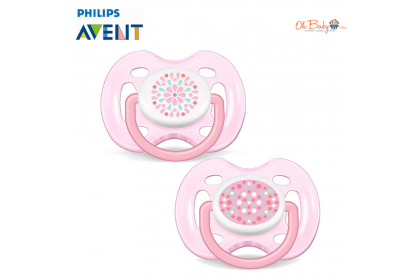 Avent Fashion Freeflow BPA Free Soother 0-6m