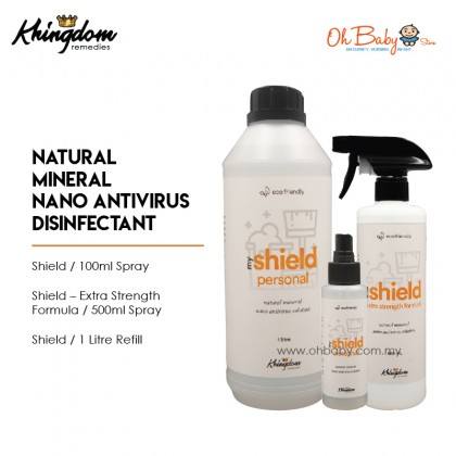 MyShield Natural Mineral Nano Antivirus Solution Sanitiser