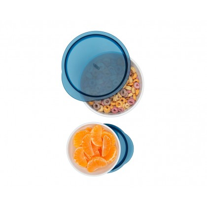 OXO Tot - Small & Large Bowl Set - Navy