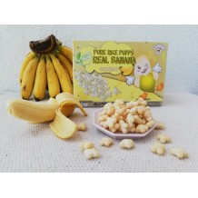 Mommy J Pure Rice Puffs Real (Apple/Banana/Blueberry)