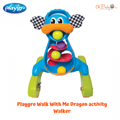 Playgro Walk With Me Dragon Activity Walker