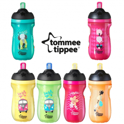 Tommee Tippee Insulated Straw Cup 12m+ (260ml)