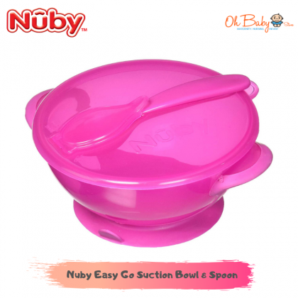 Nuby Easy Go Suction Bowl & Spoon