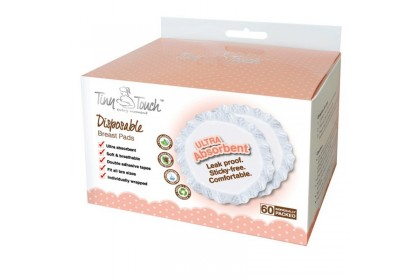 Tiny Touch Disposable Breast Pads 60 pack