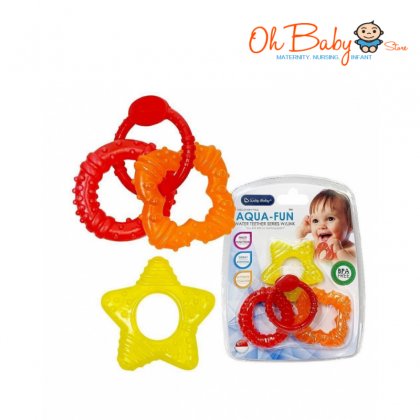 Lucky Baby Aqua Fun Water Teether Shape