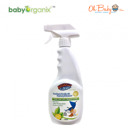 Baby Organix Naturally Kinder Nursery Cleanser 500ml