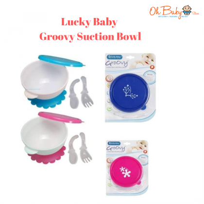 Lucky Baby Groovy Suction Bowl