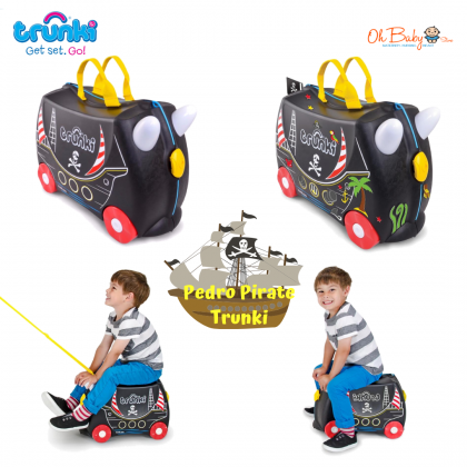 Trunki Suitcase Pedro the Pirate Ship