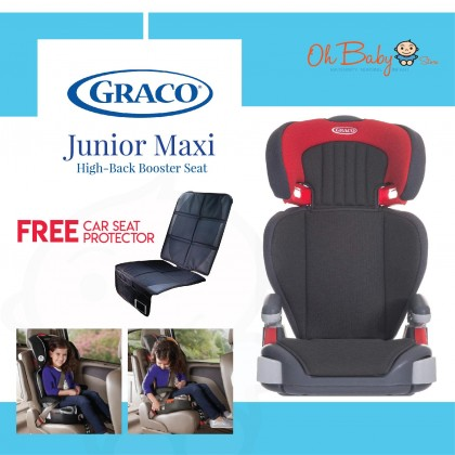 Graco Junior Maxi Group 2/3 High-Back Booster Seat Pompeian
