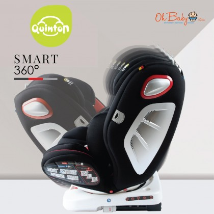 Quinton Smart 360° Isofix Safety Car Seat (Group 0+/1/2/3 )