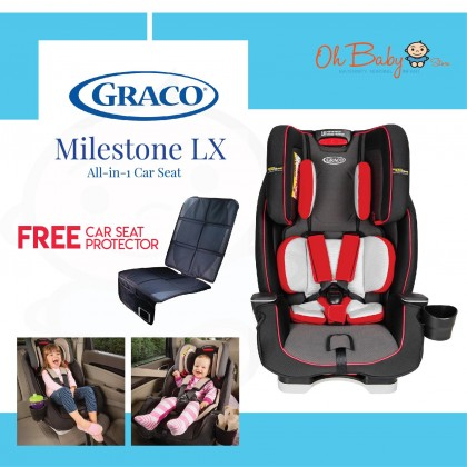 Graco Milestone LX All-In-One Convertible Car Seat