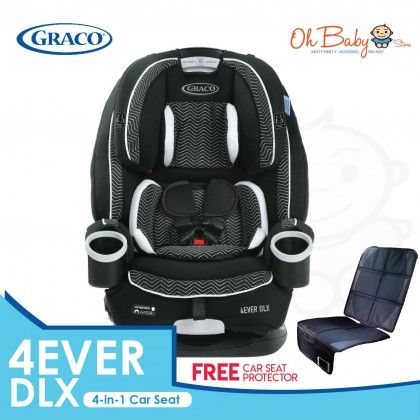 Graco 4Ever DLX All-In-One Convertible Car Seat - ZAGG