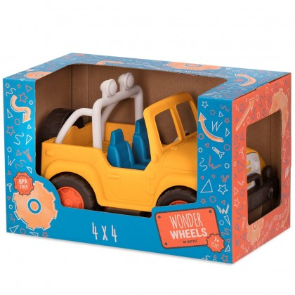 Battat Wonder Wheels Jeep 4x4
