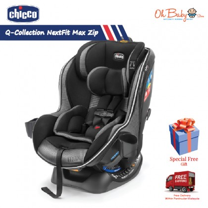 Chicco Nextfit Zip Max Convertible Car Seat from Newborn to 29.5kg