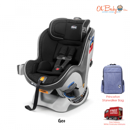 Chicco NextFit Zip Convertible Baby Car Seat with Free Gift (0-29kg)