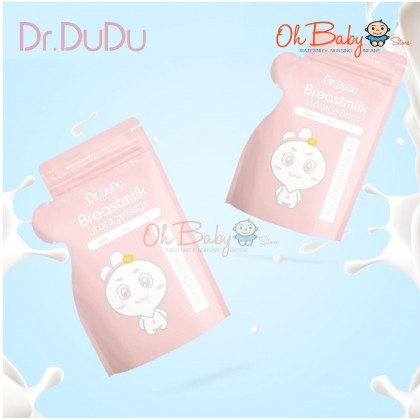Dr.Dudu Breast Milk Storage Bags 30pcs 250ml