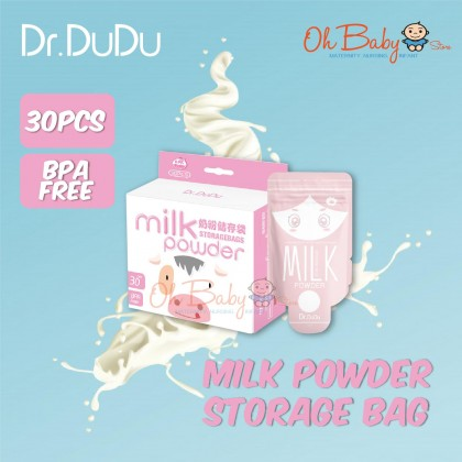 Dr.Dudu Powder Milk Storage Bags 30pcs
