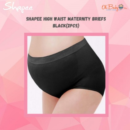 Shapee High Waist Maternity Briefs(2pcs)