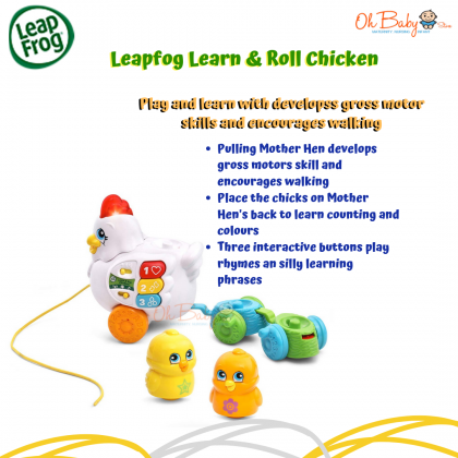 Leapfrog Learn & Roll Chicken™ Toy (12months+)