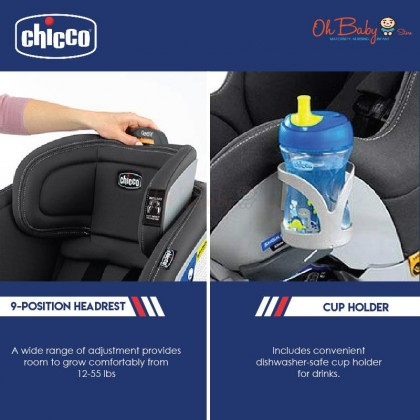 Chicco NextFit Sport Convertible Baby Car Seat with Free Gift