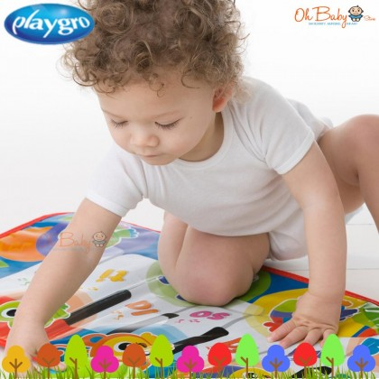 Playgro Jumbo Jungle Musical Piano Mat For Baby Learning Mat (6 months+)
