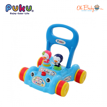 Puku Baby Push Walker Baby Toys (Blue)