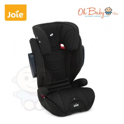 Joie Traver HighBack isosafe Baby Booster Car Seat 15kg- 36kg (Coal / Dark Pewter)