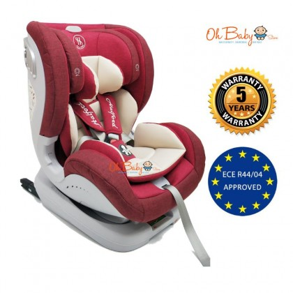 Halford Voyage XT Isofix Car Seat New Born to 7 Year Old (25kg)