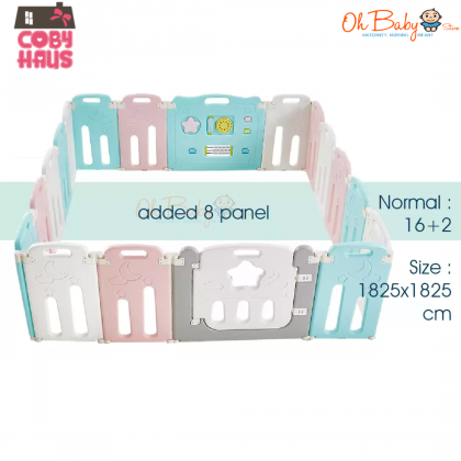 [COBY FENCE] Expandable Panel Starlight (4pcs) For COBY FENCE Starlight Folding Baby Fence