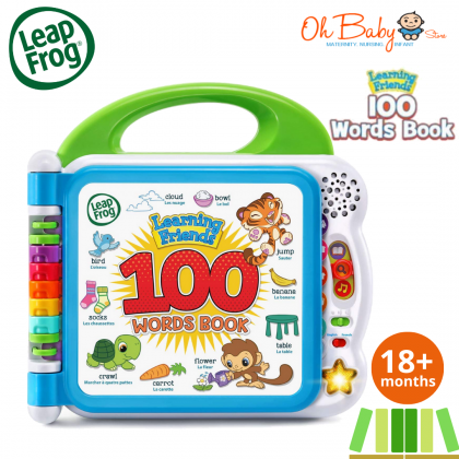Leapfrog Learning Friends 100 Words Book™ Baby Toy (18months+)