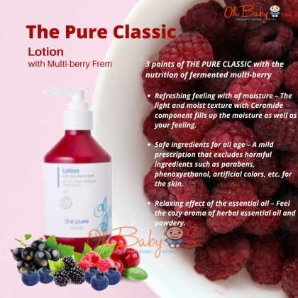 The Pure Classic Lotion with Multi-berry Ferm for Baby - 250ml