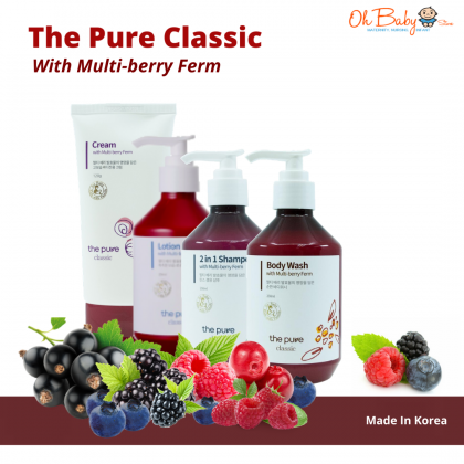 The Pure Classic Body Wash with Multi-berry Ferm for Baby - 250ml