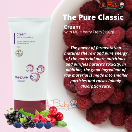 The Pure Classic Cream with Multi-berry Ferm for Baby - 120g