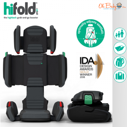hifold the fit-and-fold Booster Seat for Kids Group 2/3 for kid 4 year+ (from15kg -45kg)