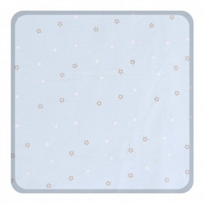 Comfy Baby - Fitted Sheet 24''x48'' Blue Star  (S)