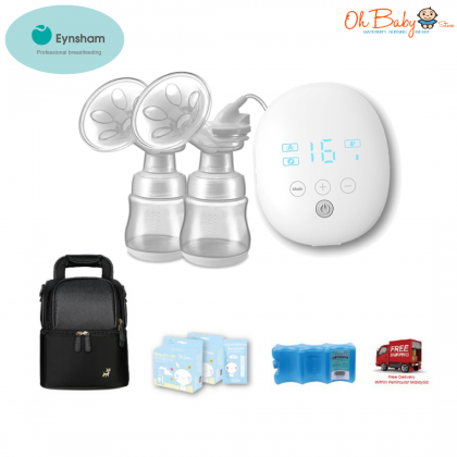 Eynsham Symphony Medical Grade Rechargeable Double Breast Pump (Pump only/ With Freegift)