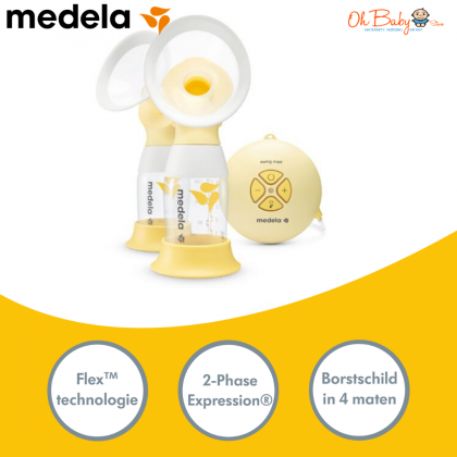 Swing Maxi Flex™ 2-Phase Double Electric Breast Pump (Non-Rechargeable) - Pump Only/ With Freegift