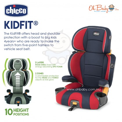 Chicco KidFit Isofix Highback 2 in 1 Booster Car Seat