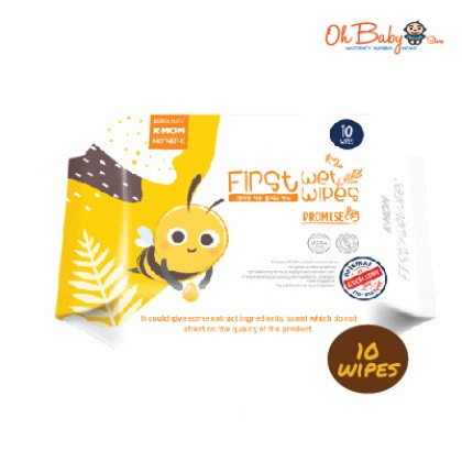 K Mom First Wet Wipes Promise 10pcs