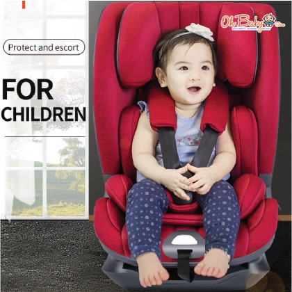 Quinton L-Tron Isofix Safety Baby Car Seat Group I+II+III (9-36kg) Booster