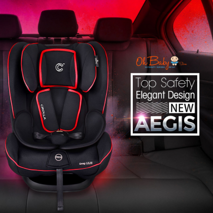 Crolla Aegis ISOFIX Car Seat 9kg to 36kg (1-12 Years Old)