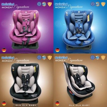 Meinkind Monza Convertible Baby Car Seats Group (0+/1)( Evo Series )